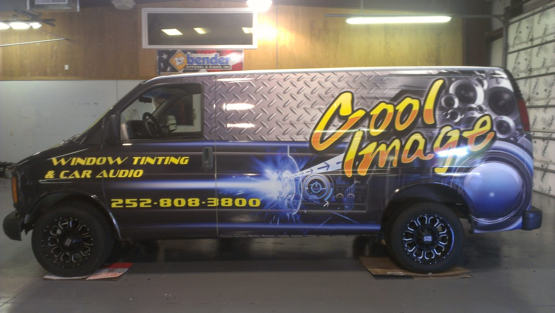 Bender Apparel Amp Signs Vehicle Wraps