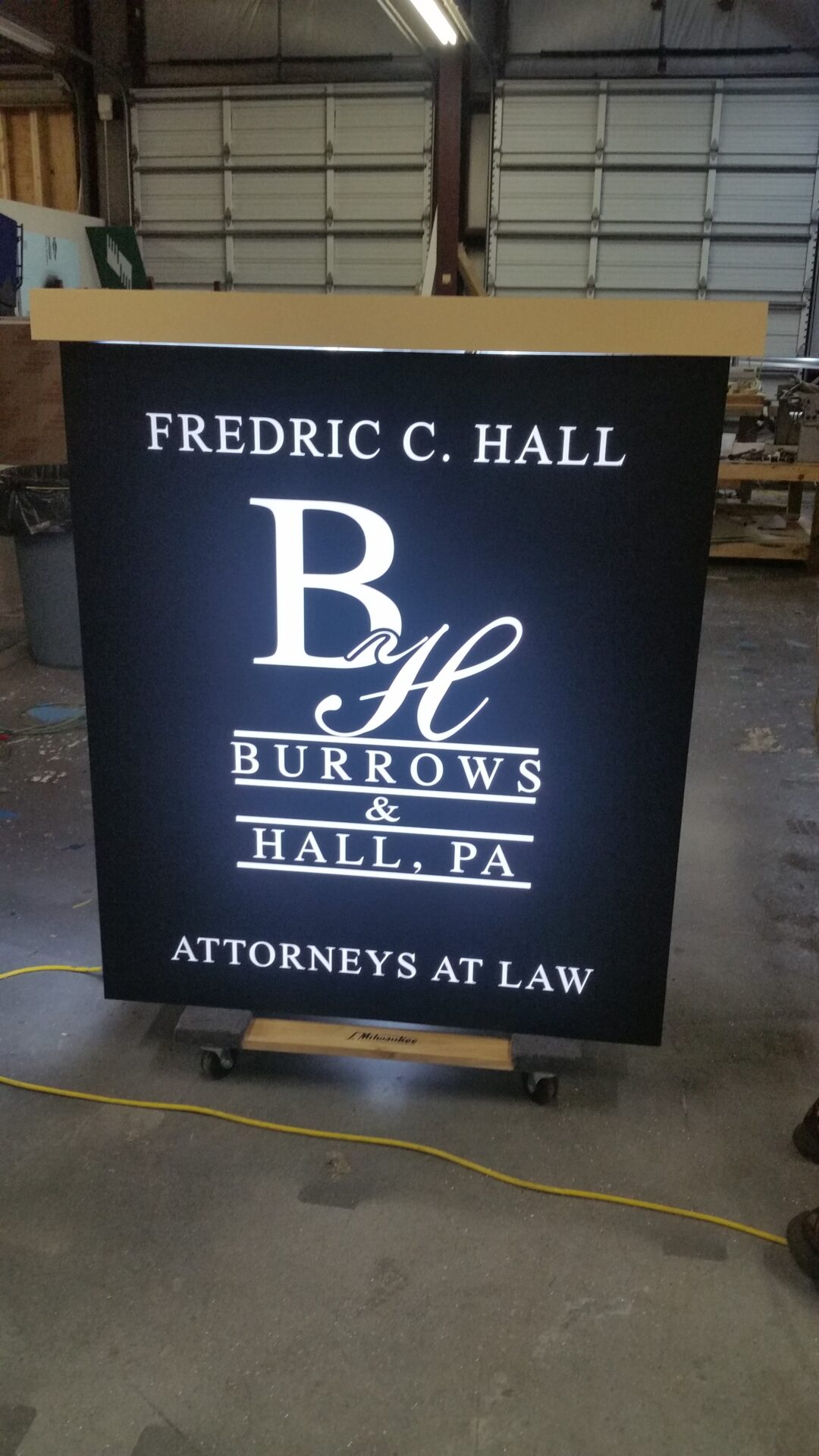 Bender signs can create a custom solution that is just right for you take a look at our sign gallery then call 252 631 5144